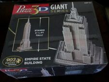 Puzz 3D EMPIRE STATE BUILDING Dimensional PUZZLE 902 Pieces NEW SEALED NEW YORK