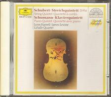 LASALLE QUARTET Franz Schubert Robert Schumann CD 8 track