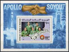Mauritania 1975 SG#MS493 Air, Apollo-Soyuz Space Link MNH M/S #A80300