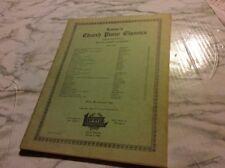 Lorenz's Church Piano Classics Ellen Jane Lorenz Sheet Music 1943 Copyright