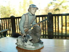 Lladro The Sportsman #6096 w/Dog & Gun - RARE - Retired - Signed by Lladro