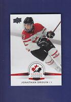Jonathan Drouin SP 2014-15 UD Hockey Team Canada Juniors #120