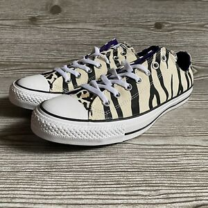 Converse Mens Twisted Archive Animal Print Chuck Taylor All Star Sneakers Sz 12