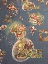 Marvel Green Lantern Twin Flat Sheet Fabric