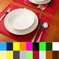Tischsets - Platzsets KUNSTLEDER - 19 FARBE - Platzdecke Tischmatte Platzmatte
