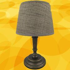 Tisch Lampe Messing brüniert Schirm 145.10R20 H.35  Weihnachtgeschenk Büromöbel