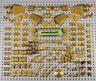 LEGO - Assorted Lot 130+ Pearl Gold Parts Pieces Plates Tiles Bricks Treasure