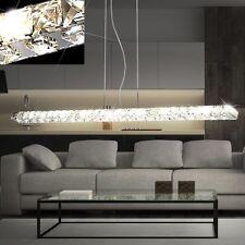 DESIGN LED Luminaire suspendu 18 W verre cristaux transparent LA VIE ess chambre