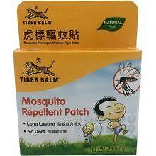 Tiger Balm Mosquito Repellent Patch |Sticker