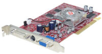 PowerColor Radeon 9600PRO Directx 9 AGP 256MB DDR R96-HD3-B Carte Graphique