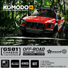 Gmade GM54000 1/10 GS01 4Link Komodo Truck Kit 4WD Off Road w/ Clear Body