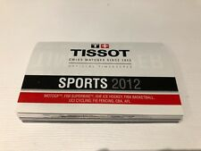 Booklet - TISSOT - SPORTS 2012 - Official Timekeeper - English - For Collectors