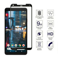 9H 3D Curved Premium Tempered Glass Screen Protector For Google Pixel 2 2XL JT