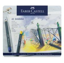 Faber-Castell Creative Studio GOLDFABER Color Pencils Tin Set 48