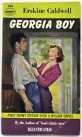 Georgia Boy by Erskine Caldwell 1950 Signet Paperback 760
