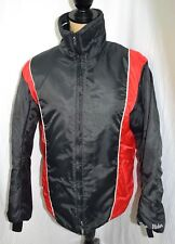 Sno Rider Womans size 14 Snowmobile Riding Jacket Coat womans Black Red White