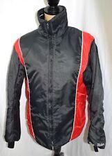 Women's  Sno Rider Snowmobile Riding Jacket Coat womans size 14 Black Red White
