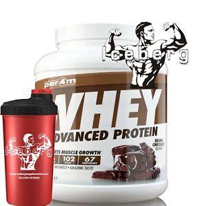 Per4m Nutrition Whey Protein 2kg, Advanced Gluten Free, Vegetarian & SHAKER!