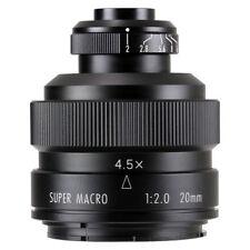 Zhongyi Mitakon 20mm f/2 4.5X Super Macro Lens for Nikon F mount camera