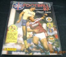 PANINI FOOTBALL 87 ALBUM - 100% COMPLETE - IMMACULATE CONDITION