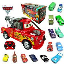 DISNEY PIXAR CARS MCQUEEN RC RADIO REMOTE CONTROL TOY + ACTION FIGURE FIGURINES
