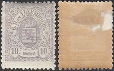 Luxemburg 1880 - Mint hinged stamp (MH). Mi Nr.: 40. Prifix Nr.: 42.(EB) MV-4028