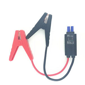 12V Smart LED Lead Cable Battery Alligator Clamp Clip Emergency Jump Start