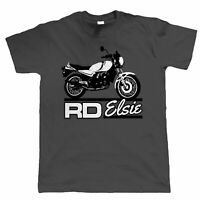 Elsie RD 350 250 LC Two Stroke Biker T Shirt - all sizes inc 4XL 5XL