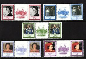 ZES 1986 The 60th Anniversary of the Birth of H.R.M. The Queen Elizabeth Gutter