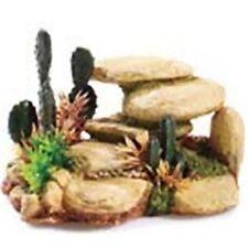 """Classic White Stone Cactus 6"""" Aquarium Fish Ornament"""