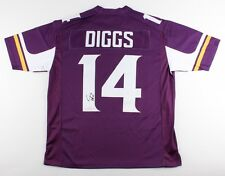 Stefon Diggs Signed Vikings Jersey (TSE Hologram) Minnesota Wide Receiver