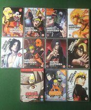 Manga Anime Naruto DVD Bundle Season 5 Boxset Movies Etc