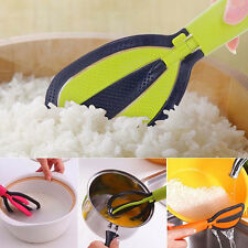 Kitchen Meal Spoon Wash Rice Gadgets PP Plastic Creative Multifunction Tools #UK