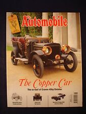 The Automobile - June 2012 - V8 Pilot - Daimler - Ettore - Carden cyclecar