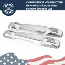 Chrome Door Handle Cover for 07-13 Chevy Silverado Sierra Standard Extended Cab
