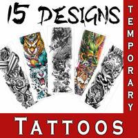 Temporary Full Sleeve Tattoo Waterproof Realistic Large Body Art tattoo Sticker