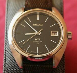 King Seiko 4502 Hi Beat Daini, Numbered Chronometer, Gold Medallion. KS Strap