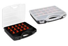 Cassetta porta utensili 20 scomparti organizer viti tasselli accessori minuterie