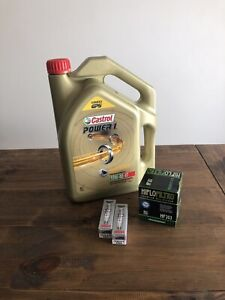 Kawasaki EX650 Ninja 650R 2009-2019 Service Kit (Oil, Filter And Spark Plugs)