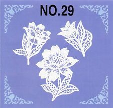 New Lace Machine Embroidery Card 29 Brother Baby Lock Heirloom Vintage  PES