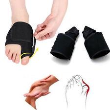 2x Big Toe Bunion Splint Straightener Corrector Hallux Valgus Relief Foot Pain