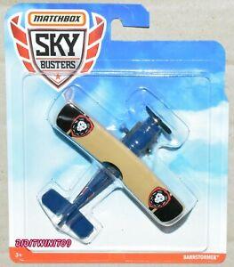 MATCHBOX SKYBUSTERS BARNSTORMER BLUE
