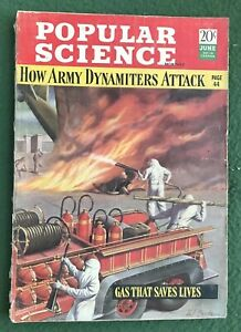 Popular Science June 1942 vintage how to magazine