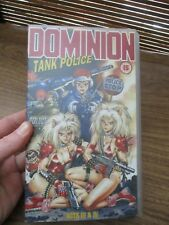Dominion Tank Police Acts 3 and 4  VHS Video Tape (NEW)