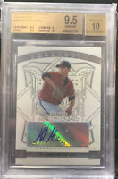 Mike Minor 2009 Bowman Sterling Auto Prospects Rookie Card RC Autograph BGS 9.5