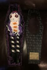 Annabelle Plush Doll In Coffin Nightmares & Fairy Tales 2003 Rare Horror Used