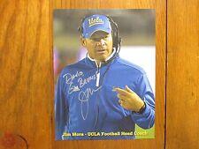 JIM  L.  MORA (UCLA  BRUINS/Seattle Seahawks) Signed  8 1/2  x 11  Color   Photo