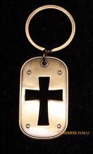 CHRISTIAN IXOYE CROSS KEY CHAIN RING JESUS PIN UP GOD ANGELS CRUCIFIX GREAT GIFT