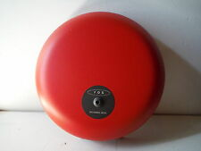 "FOS Fire Alarm 10"" Gong Bell 21-30V DC"