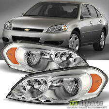 2006-2013 Chevy Impala 07 Monte Carlo Headlight Headlamps Replacement Left+Right